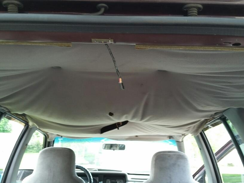Car Ceiling Fabric Falling 20 Headliner Screws Car Roof Repair Kit Ceiling Fabric Tips To