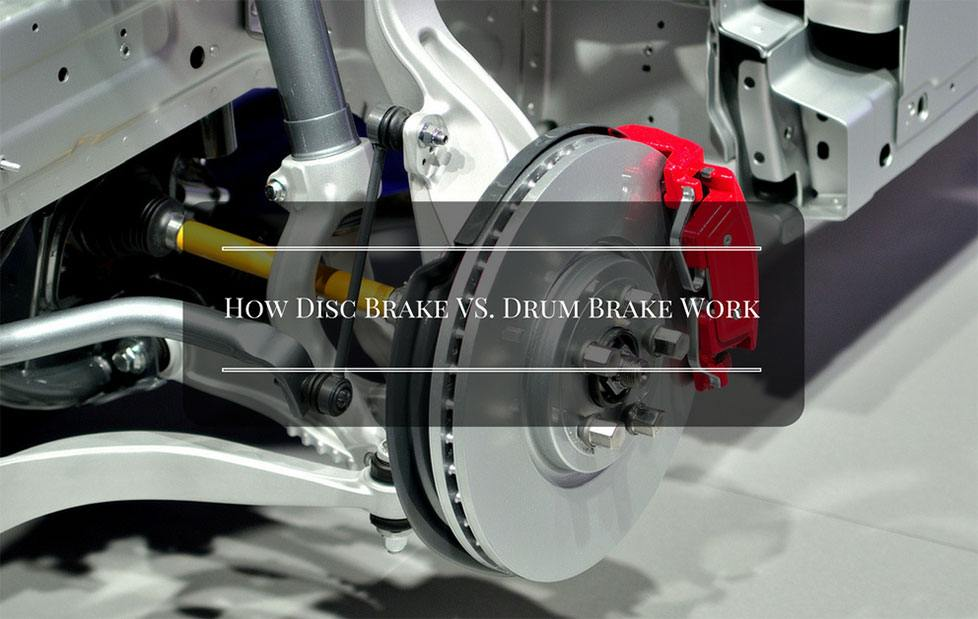 infographic how disc brake vs drum brake work. Black Bedroom Furniture Sets. Home Design Ideas